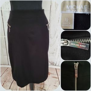 Michael Kors Ponte Kit Pencil Skirt